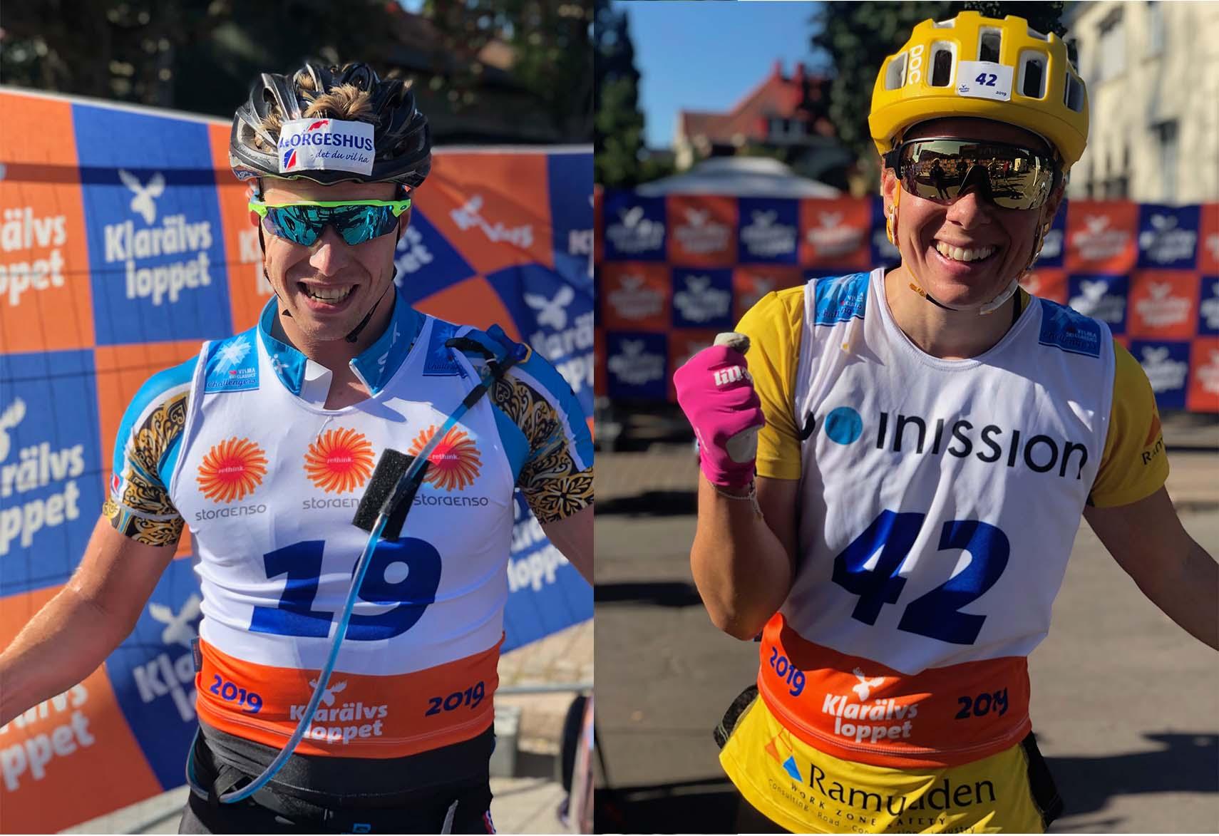 Segrare Klarälvsloppet Roller Ski 90K 2019
